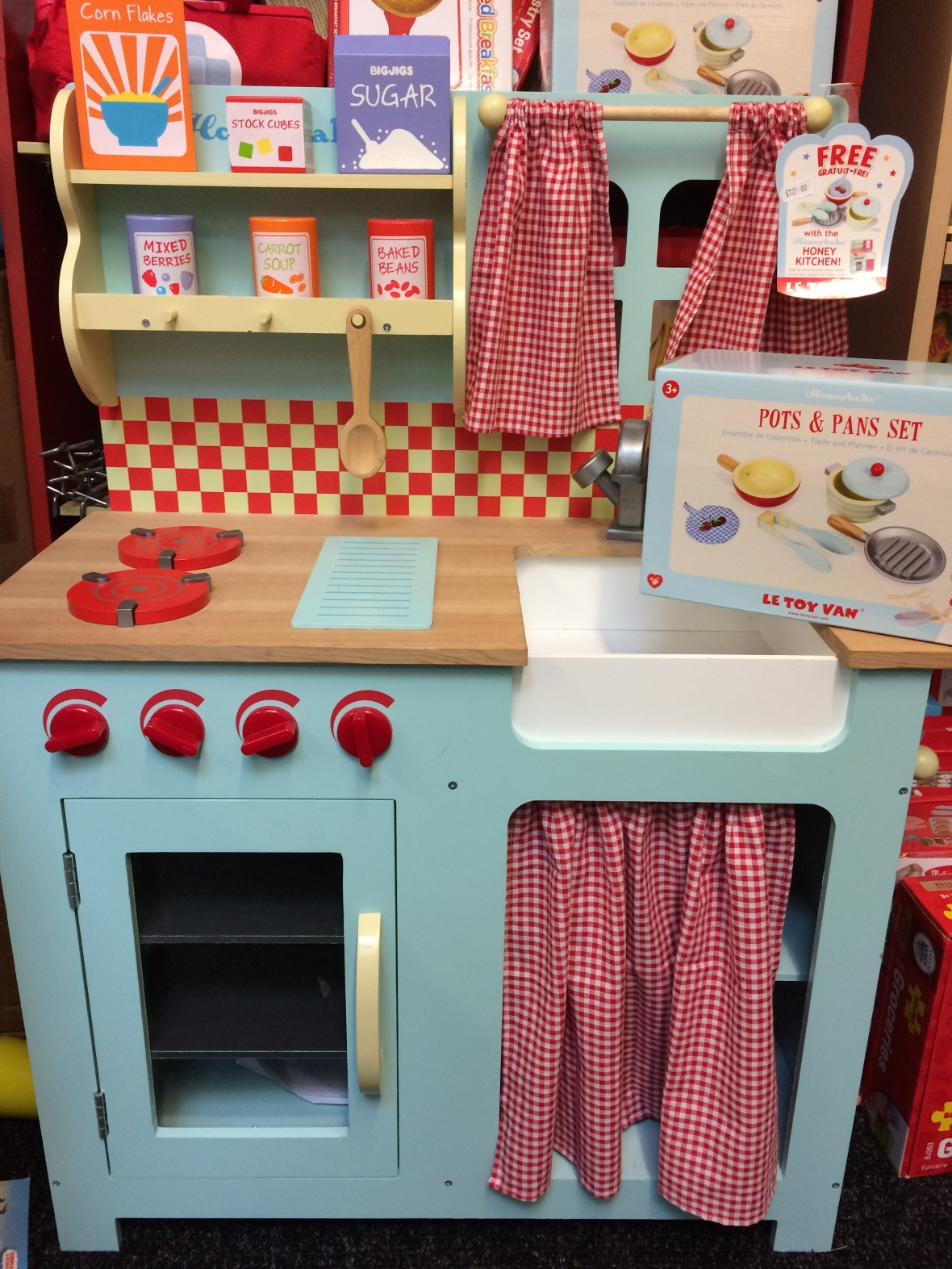 le toy van kitchen