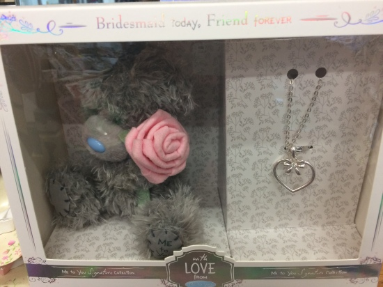 me to you bridesmaid gift