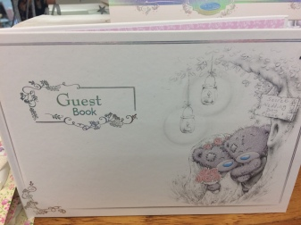 me to you guest book