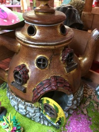 Tea Pot fairy home