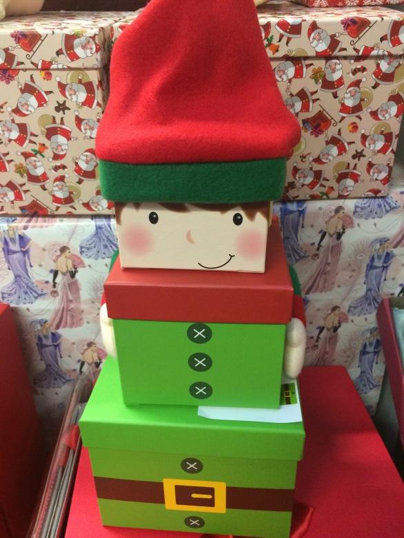 elf set of three boxes