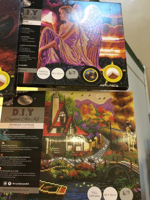 Crystal art kits
