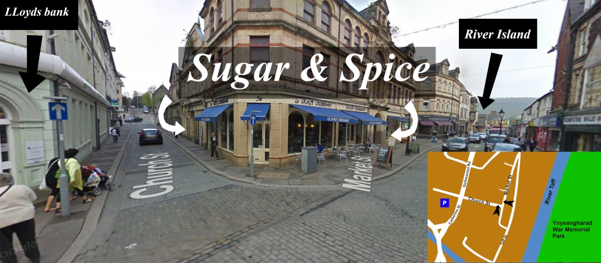 how to find sugar and spice