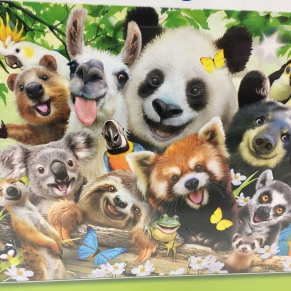 animals 500 piece jigsaw puzzle
