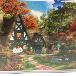 cottage jigsaw puzzle 500 piece