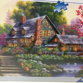 cottage jigsaw puzzle