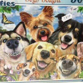dogs selfies jigsaw