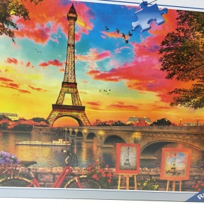 paris 1000 piece jigsaw