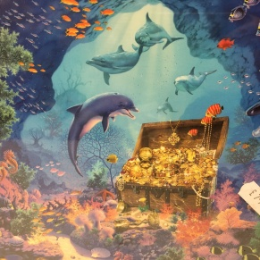 underwater treasure jigsaw puzzle
