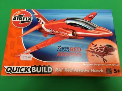 QB red arrow hawk