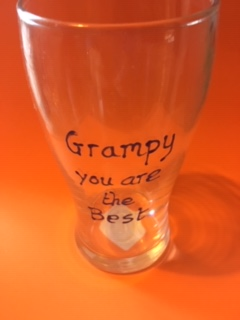 grampy you are the best glass