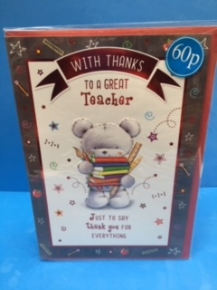 c - teacher just to say thank you