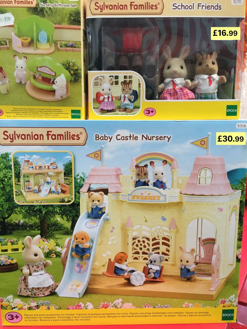 sylvanian family schools