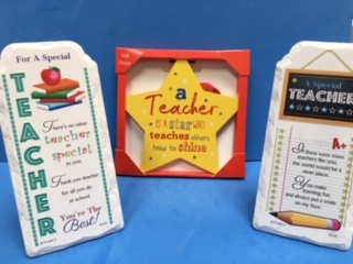 teacher plaques