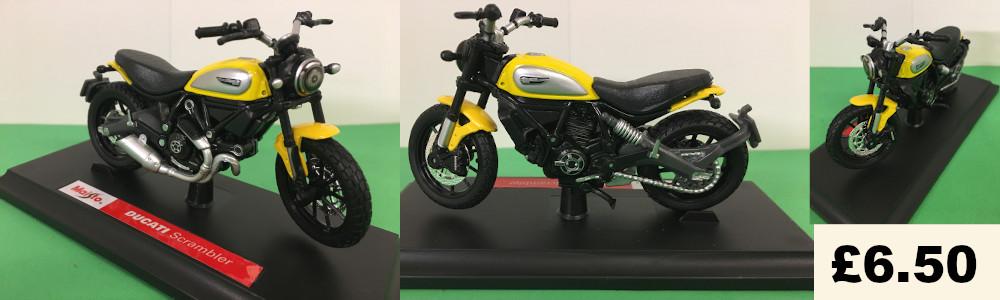 ducati scrambler model bike