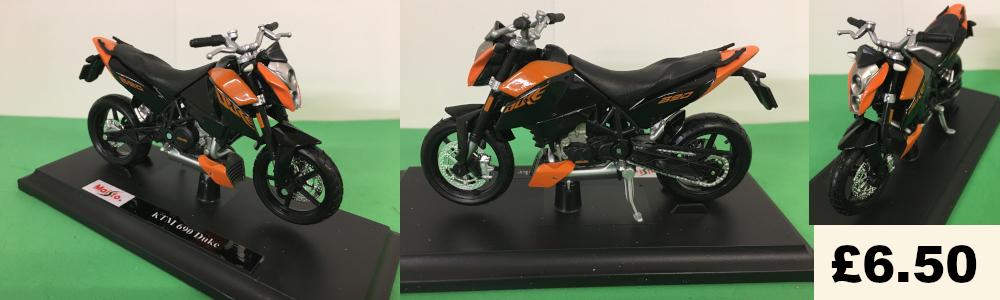KTM 690 duke model bike