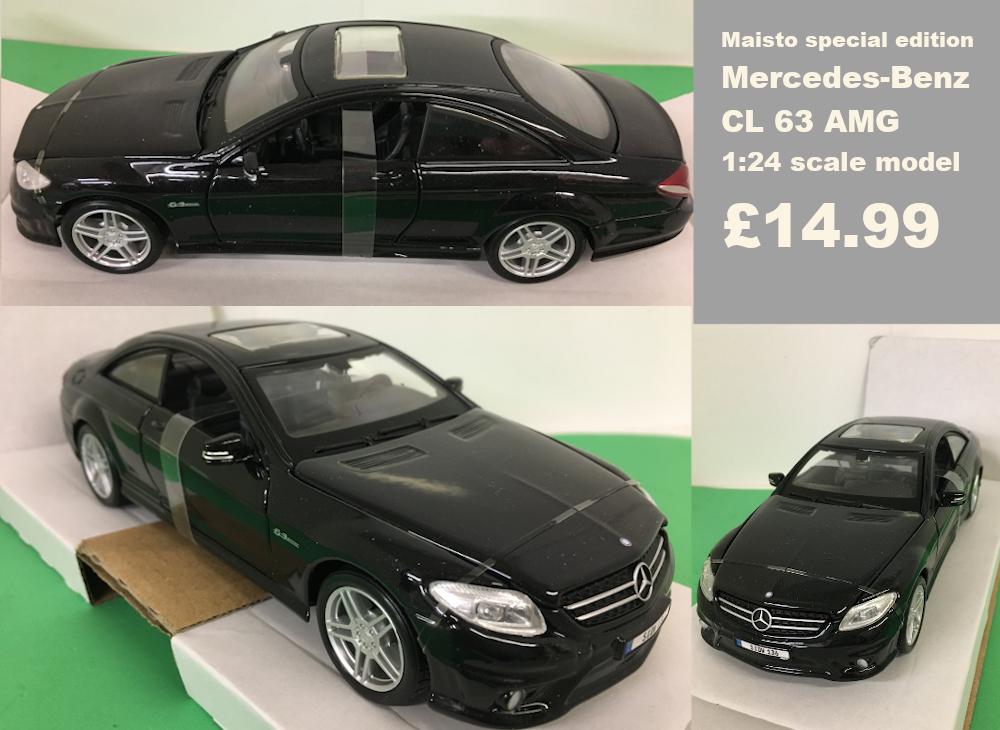 mercedes-benz scale model £14.99