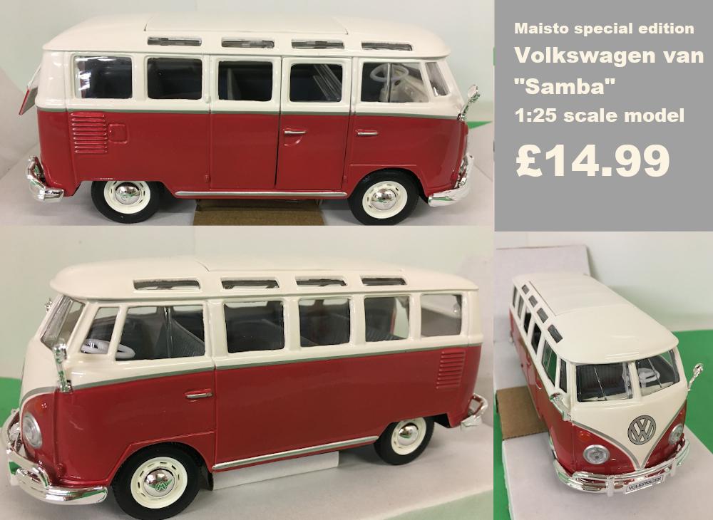 volkswagen van samba model £14.99