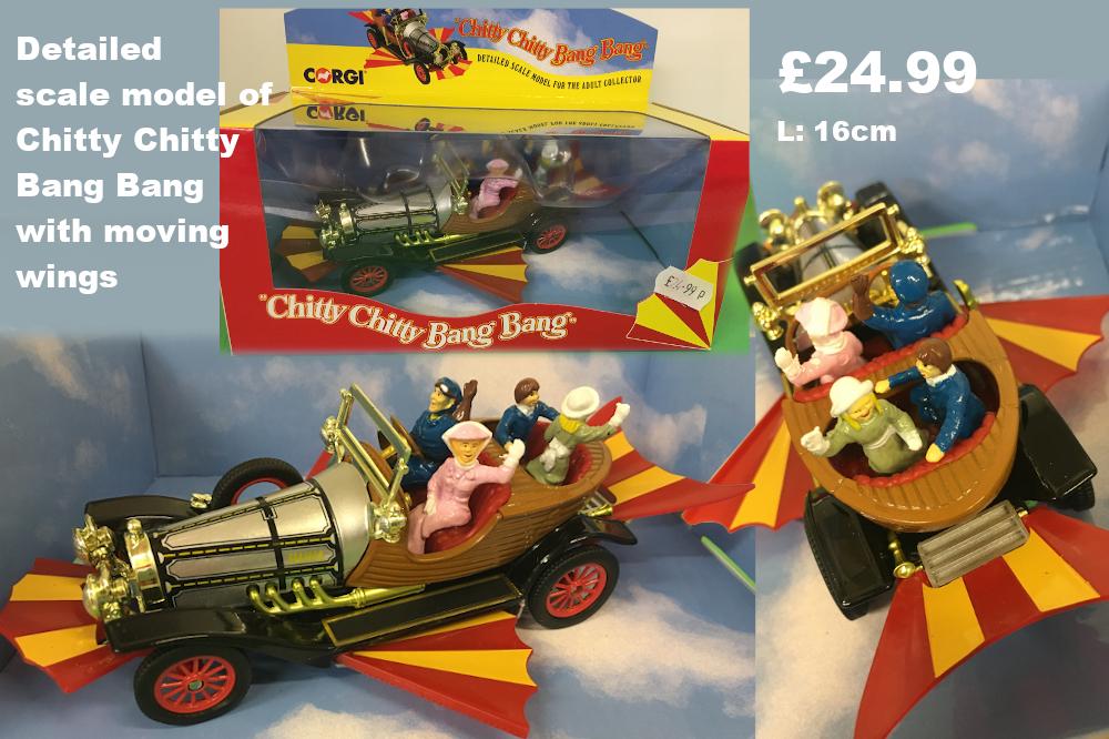 Chitty chitty bang bang scaled model £24.99