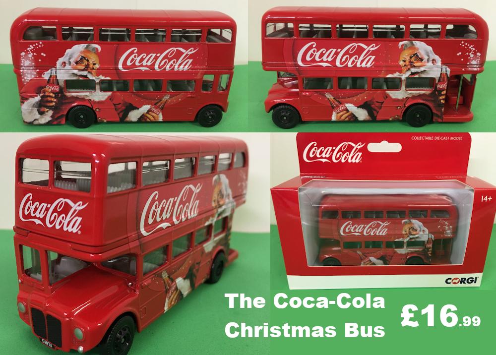 Coca-Cola Christmas Bus official model £16.99