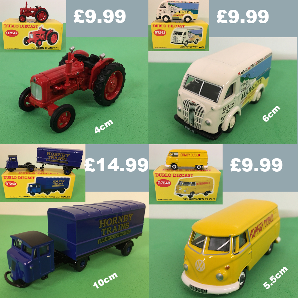 Horby dublo diecast vehicles from £9.99