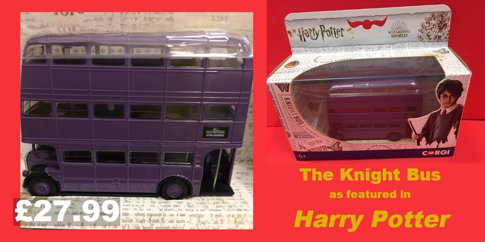 Knight bus Harry Potter model bus £27.99
