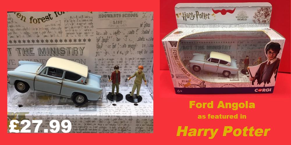 Harry Potter Ford Angola model £27.99