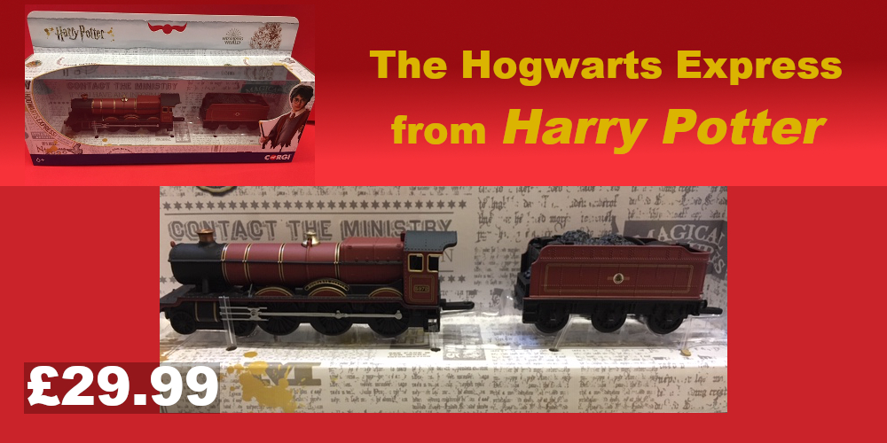 Hogwarts Express model train £29.99