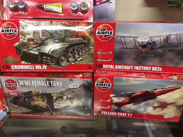 Airfix kits for less than a tenner