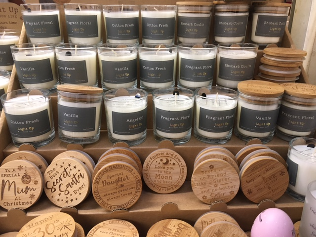 Soy wax candles gift sets